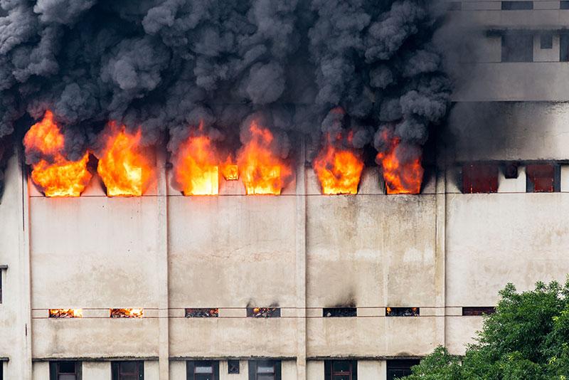 warehouse-fire